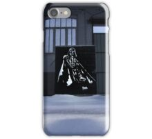 Vader spraypainting iPhone Case/Skin