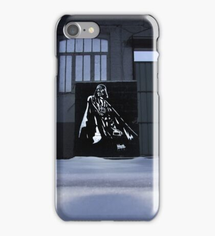Vader spraypainting iPhone Case/Skin
