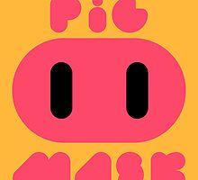 Pig Mask Logo by Studio Momo╰༼ ಠ益ಠ ༽