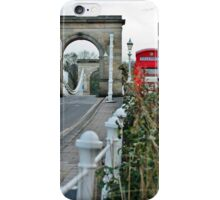 Telephone Box, Marlow, Bucks iPhone Case/Skin