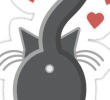 Cat Butt Love Sticker