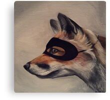 the Sly Fox Canvas Print