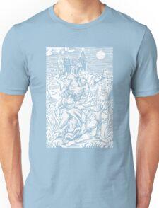Ghoul Feeding (White)  Unisex T-Shirt