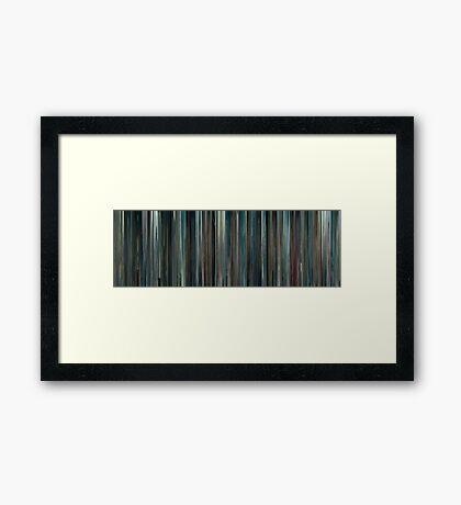 Moviebarcode: Le Havre (2011) Framed Print