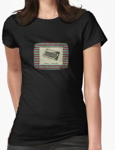 ZX Spectrum Loading Screen Womens Fitted T-Shirt