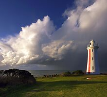 Mersey Bluff  Lighthouse  by Julien Johnston