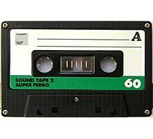 Audio Cassette Tape Photographic Print