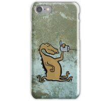 phonosaur (listening) iPhone Case/Skin