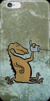 phonosaur (listening) by greendeer