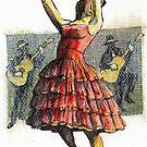 Flamenco Dancer by alexvos