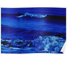 midnight surfer Poster