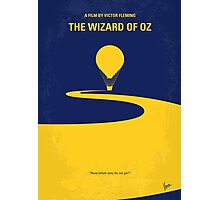 No177 My Wizard of Oz minimal movie poster Photographic Print