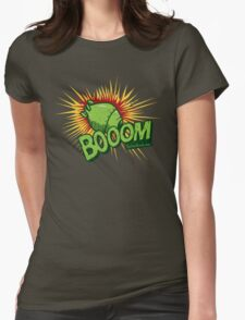 Booom Womens Fitted T-Shirt
