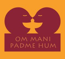OM MANI PADME HUM by Kim  Lynch