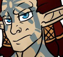 "Jak and Daxter: Torn ""New Face Make Me Nervous"" Sticker"