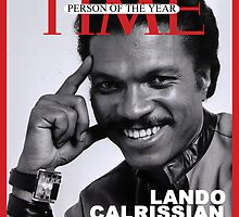 Landon Calrissian - Time Person of the Year by BillyTWilliams