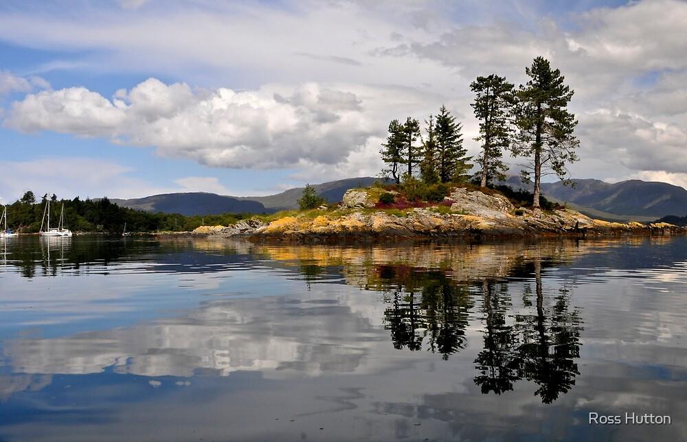 Plockton Island, West Coast of Scotland. by Ross Hutton
