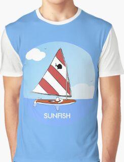 Sunfish Sailboat Graphic T-Shirt