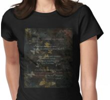 Fragile Remix Womens Fitted T-Shirt