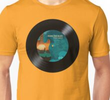 Rising Tide Blues - Aqua Disc Unisex T-Shirt
