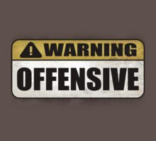 WARNING: Offensive - As seen in Lockout by Benjamin Whealing
