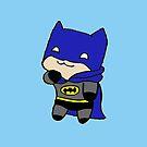 Baby Batman by missbrodrick