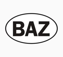 BAZ - Oval Identity Sign by Ovals