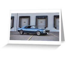 1968 Chevrolet Camaro SS Greeting Card