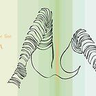 one line zebra by jatujeep