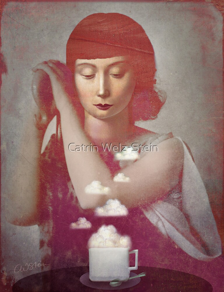 Clouds in her Coffee by Catrin Welz-Stein