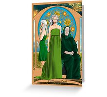 The Summer Court of the Sidhe Greeting Card