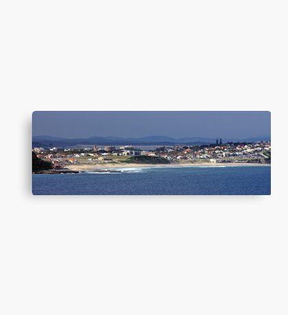 Newcastle to Stockton Bight Canvas Print