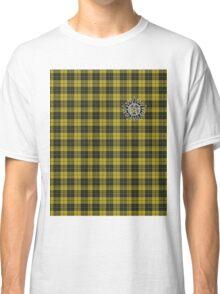 Supernatural Anti-possession symbol on PLAID in YELLOW Classic T-Shirt