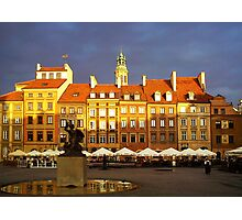 Warsaw Old Town Photographic Print