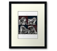 Four Framed Print