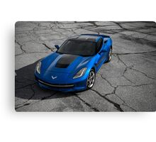 2014 Chevrolet Corvette Stingray Z51 Canvas Print