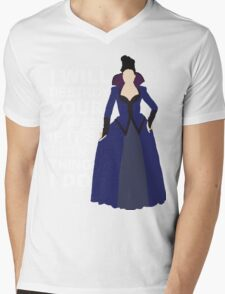 Regina Mills - Destroy Your Happiness Mens V-Neck T-Shirt