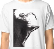 Shadowtwister dancer - conté drawing Classic T-Shirt
