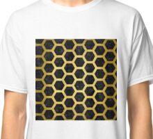HXG2 BK MARBLE GOLD Classic T-Shirt