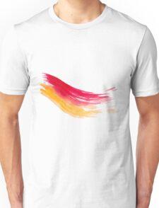 Colorful Watercolor Brush  Unisex T-Shirt