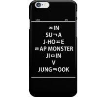 BTS hangul name iPhone Case/Skin