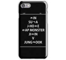 BTS hangul name iPhone Case/Skin