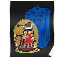 Daleks in Disguise - Fourth Doctor Poster
