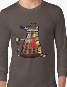Daleks in Disguise - Fourth Doctor Long Sleeve T-Shirt