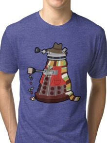 Daleks in Disguise - Fourth Doctor Tri-blend T-Shirt