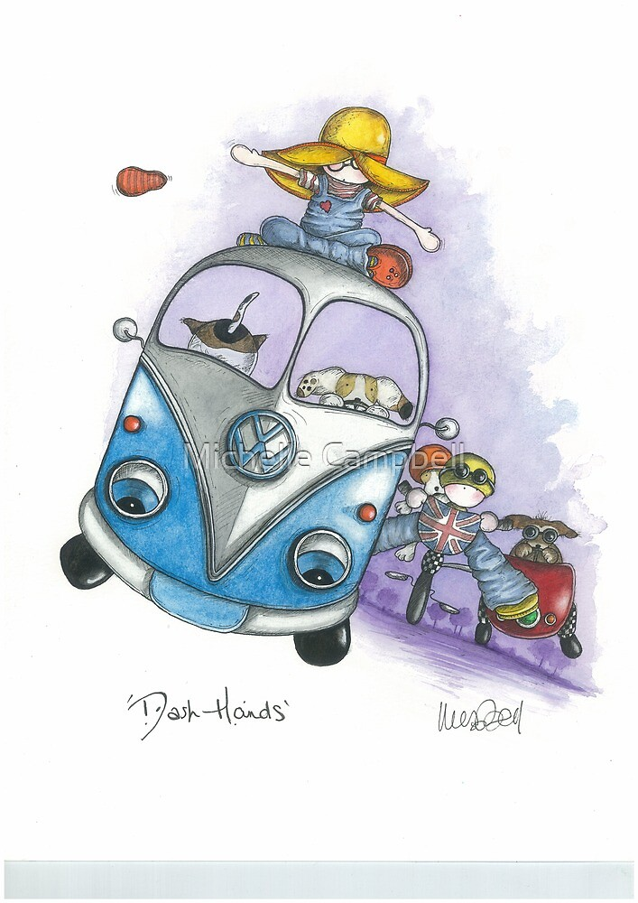 Dash Hounds by Michelle Campbell
