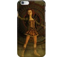 Anime Meets Steampunk iPhone Case/Skin