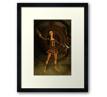 Anime Meets Steampunk Framed Print