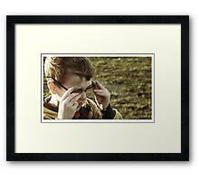 Being Clark Kent doesn't suit everybody Framed Print