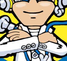 valentino rossi vr46 cartoon the doctor italian motogp rider Sticker